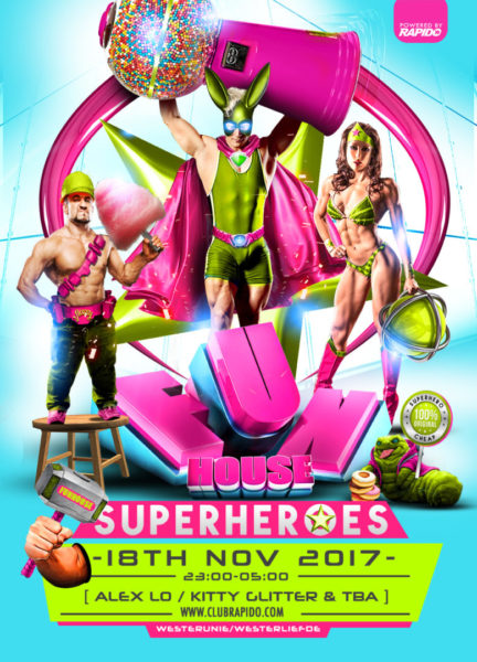 FunHouse - Superheroes - 18 November 2017